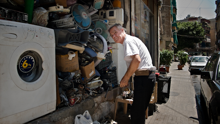 Ara Madzounian, Scrap collector (2009)