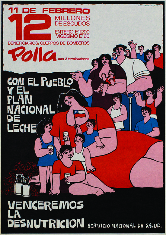 Plate 4: Polla Chilena de Beneficinecia, 1971-1973. Courtesy of Waldo González and Mario Quiroz