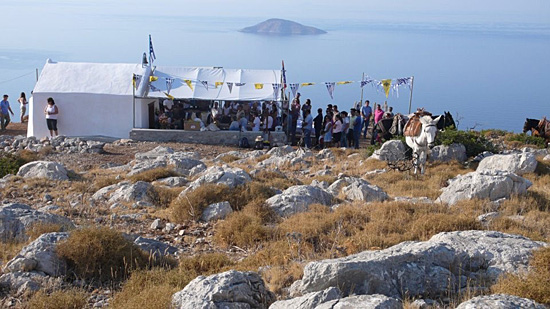Il Cammino Commune: The Song by Nomadic Architecture Network, Hydra, 2011.