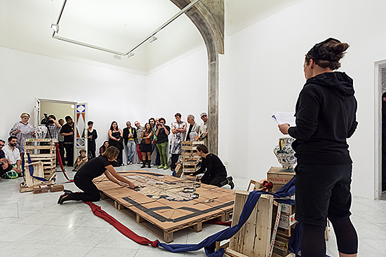 Ill. 12 Renaissance resistance, exhibition view in Villa Romana, 2015, photo: Nicolò Burgazzi, OKNO studio